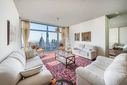 فلیٹ 3 غرف نوم للبيع في مركز دبي المالي العالمي، دبي - Great Layout | Burj Khalifa and Sea Views