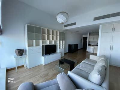 فلیٹ 1 غرفة نوم للايجار في دبي مارينا، دبي - Large Furnished Upgraded with Partial View