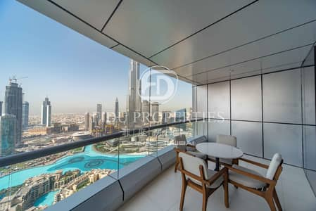 2 Bedroom Flat for Rent in Downtown Dubai, Dubai - High Floor I All Bills Inclusive I Panoramic View