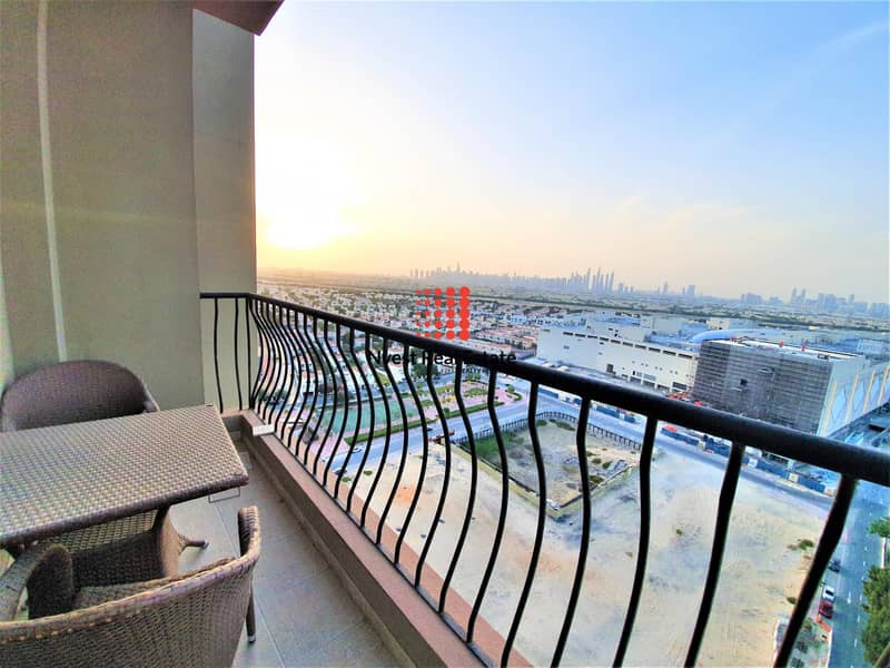 22 Furnished 2 Bed| High Floor| Marina Skyline View
