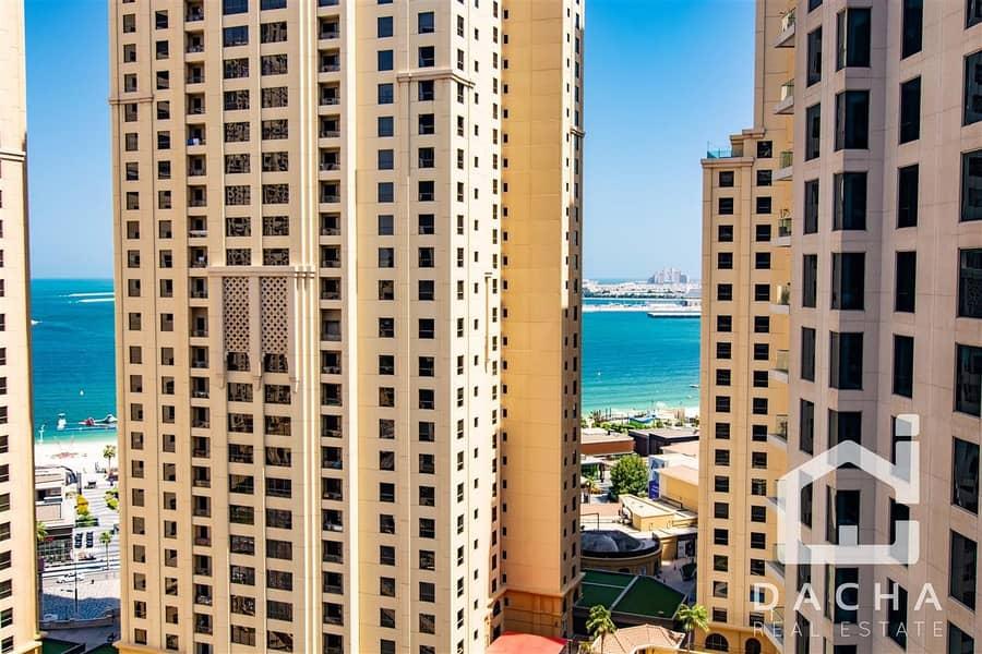 17 Bright Spacious 1 Bed / Marina & JBR Views