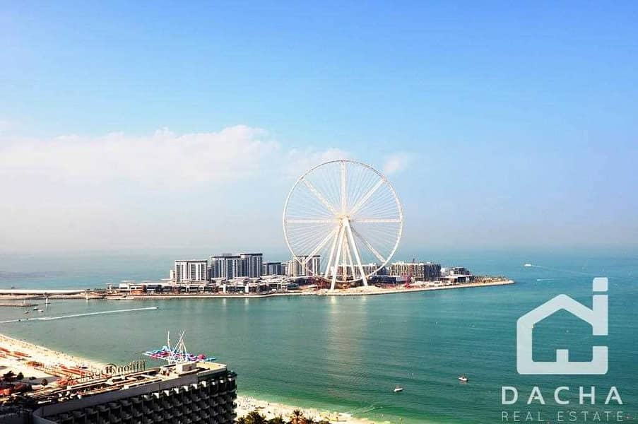 Lovely 3  Bed +Maids / Bluewaters view