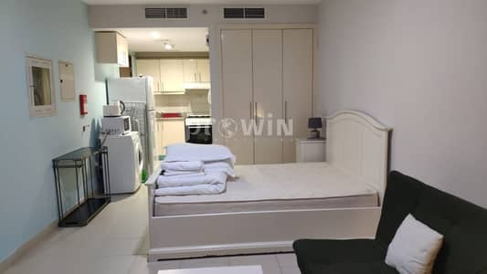 Studio for Rent in Arjan, Dubai - Fully Furnished | Kitchen Equipped | All bills included| Monthly Payment