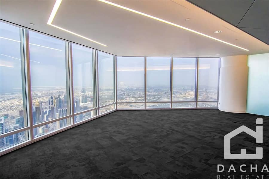 EXCLUSIVE FITTED OFFICE VERY High Floor
