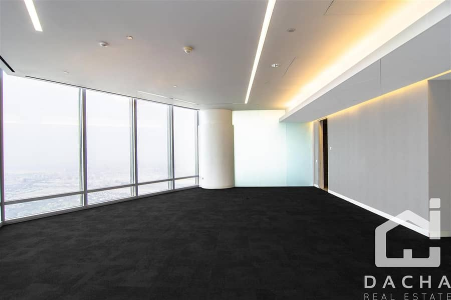 2 EXCLUSIVE FITTED OFFICE VERY High Floor
