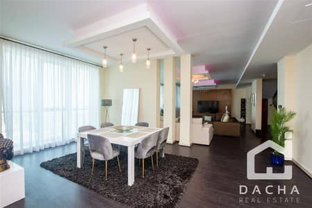3 Bedroom Penthouse for Rent in Dubai Marina, Dubai - PENTHOUSE / UNFURNISHED / CHILLER FREE