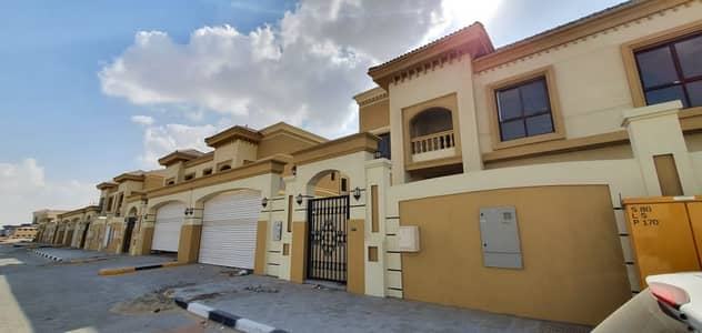 3 Bedroom Villa for Sale in Hoshi, Sharjah - Brand new 3BR ready to move villas for sale in Hoshi with separate mulqia price 1.8M. 5 year payment plan price 1.9M