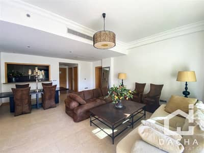 1 Bedroom Flat for Rent in Palm Jumeirah, Dubai - 1br Park View / Furnished / with Beach Access