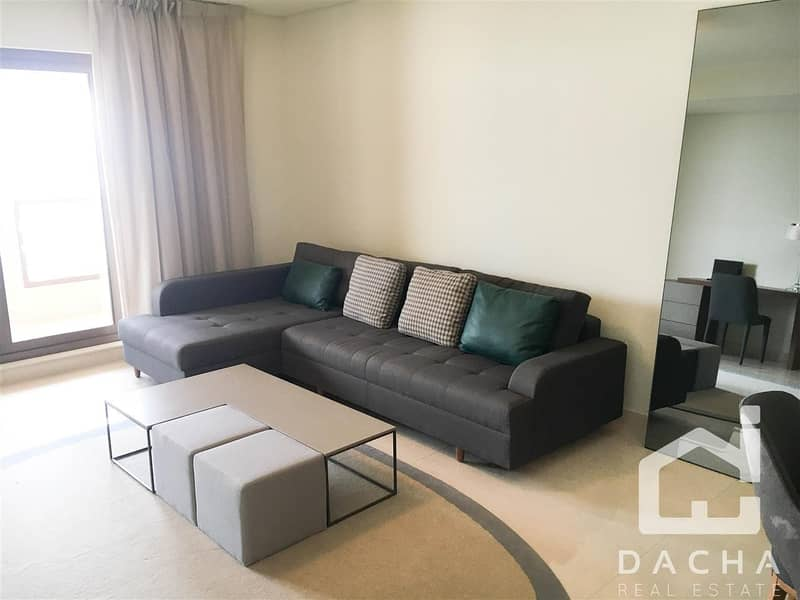 2 2br+maid*Full Palm and Marina Views*Furnished