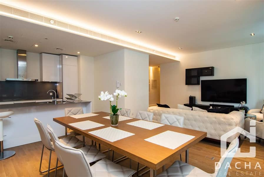 2 Exclusive Fully furnished 2+M opp Mall