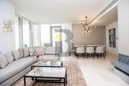 3 Bedroom Flat for Rent in Jumeirah Lake Towers (JLT), Dubai - Fully Furnished Three Bed W Maids I Available Jan