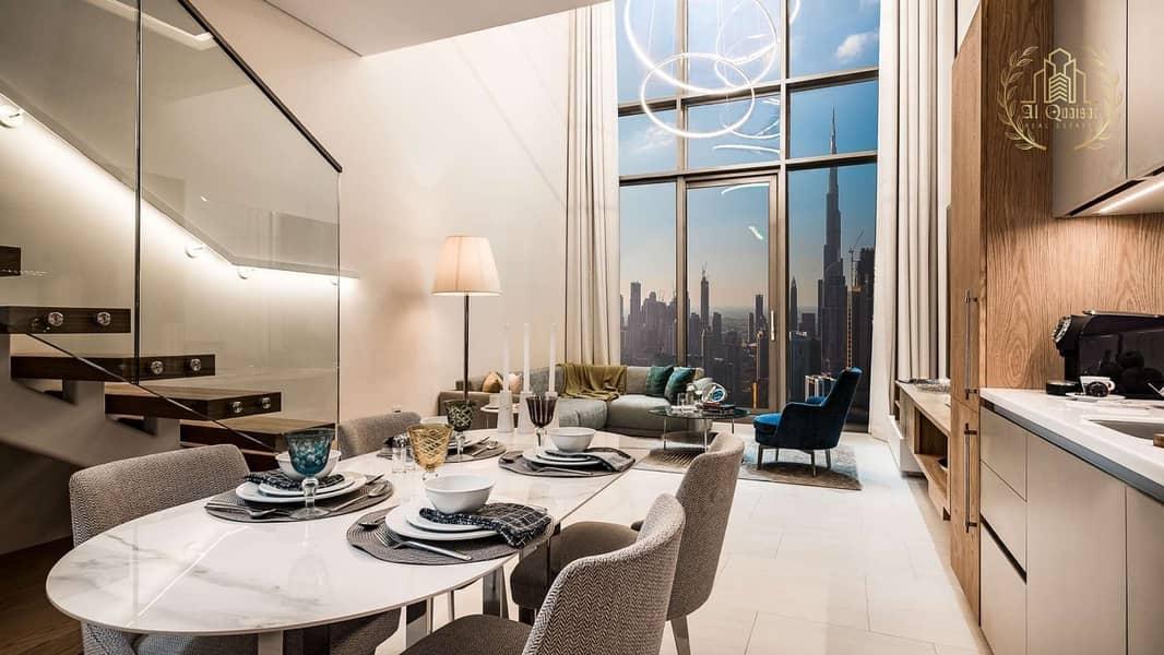 Luxury Apartment   Duplex l Burj Khalifa View