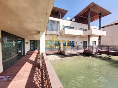5 Bedroom Villa for Rent in Al Gurm, Abu Dhabi - Unique 5BR Waterfront Villa | Swimming Pool