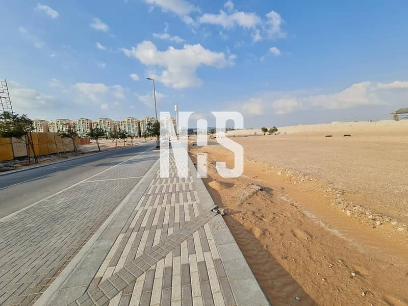 8 Cornered Land with  amazing location in AL Mareef