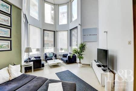 شقة 3 غرف نوم للايجار في تلال الجميرا، دبي - Breathtaking Lake & Community View   Duplex