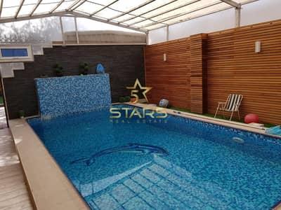 3 Bedroom Villa for Sale in Al Jazzat, Sharjah - 3 Bedroom Villa for Sale   Well Maintained   With Swimming Pool