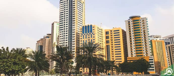 Building for Sale in Al Nahda, Sharjah - Residential tower Hot deal