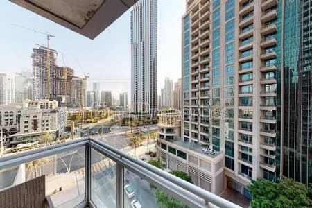 شقة 1 غرفة نوم للايجار في وسط مدينة دبي، دبي - BLVD View! Vacant! Largest 1BR 03 Series