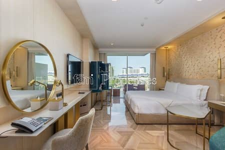 Hotel Apartment for Sale in Palm Jumeirah, Dubai - Studio with balcony | Hotel Rental Pool | High ROI
