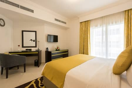 2 Bedroom Hotel Apartment for Rent in Al Barsha, Dubai - Two bedroom Hotel Apartment Furnished included utilities ( No Commission )