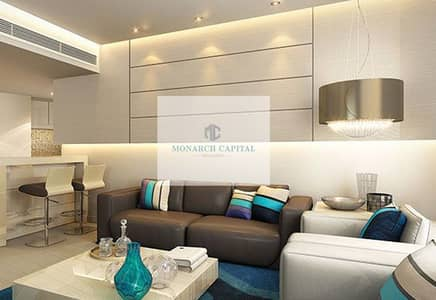 2 Bedroom Apartment for Rent in Dubai South, Dubai - aviation city fully furnished 2 bedroom
