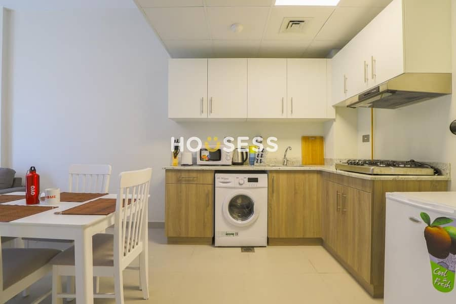 2 Cozy furnished 1br | brand New | Maintenance FREE
