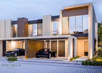 4 Bedroom Townhouse for Sale in Dubailand, Dubai - 4BR TH - 3800sqft Plot - Backing on the Park and Pool