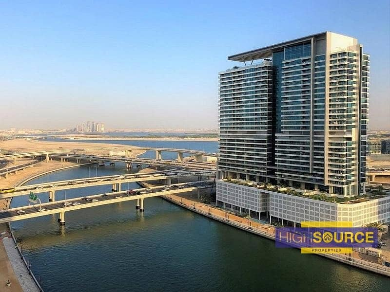 13 FULLY FURNISHED CANAL VIEW SPACIOUS 1 BED ROOM WITH BALCONY RENT IN DAMAC MASION THE VOGUE BUSINESS BAY