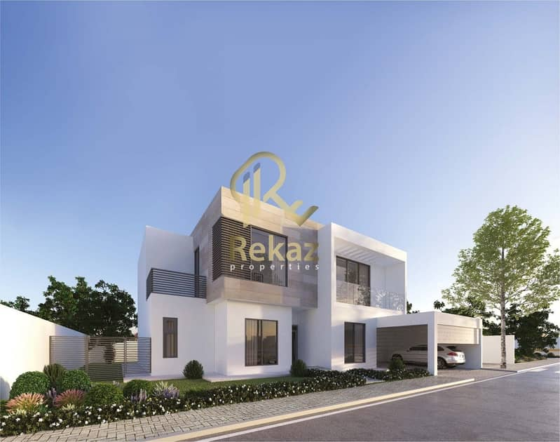 38 Villa with 5% down payment and the rest in installments