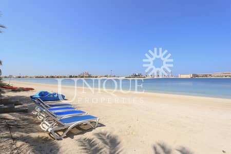 Plot for Sale in Palm Jumeirah, Dubai - Plot in Palm Jumeirah Frond N with Atlantis view