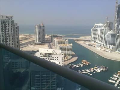 2 Bedroom Apartment for Sale in Dubai Marina, Dubai - HUGE 2BR+MAID'S+LAUNDRY IN OPAL;FULLMARINA AND SEA VIEW!