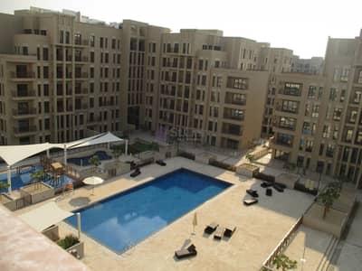 فلیٹ 2 غرفة نوم للايجار في تاون سكوير، دبي - Biggest 2 Bedroom | Pool View with Walk in Closet