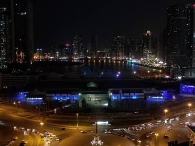 1 Bedroom Flat for Rent in Al Taawun, Sharjah - Unique Sea view 1bhk in Al taawun Sharjah