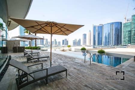 فلیٹ 1 غرفة نوم للبيع في الخليج التجاري، دبي - Investors Deal | High Floor | Corner Unit