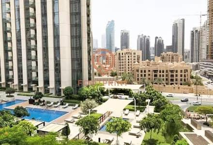 استوديو  للايجار في وسط مدينة دبي، دبي - Studio- Chiller Free- Higher Floor- Balcony- Laundry Room