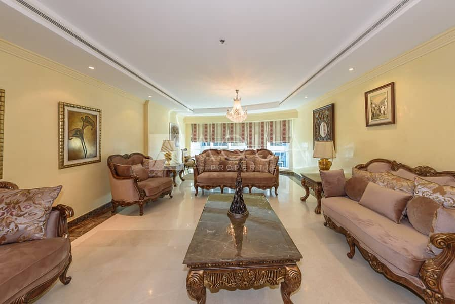 Spacious 3 BR | Fully Furnished | High Floor