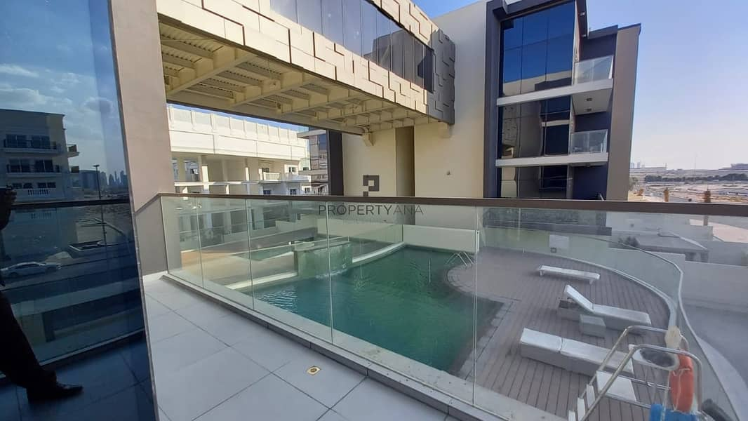Bright Apt | Brand New| Perfect Layout| Pool view