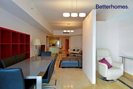 شقة 1 غرفة نوم للايجار في دبي مارينا، دبي - Marina View | Furnished | Vacant Soon