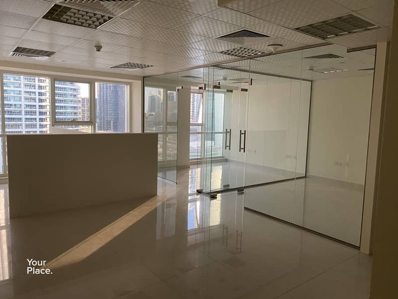 Near metro fully fitted office
