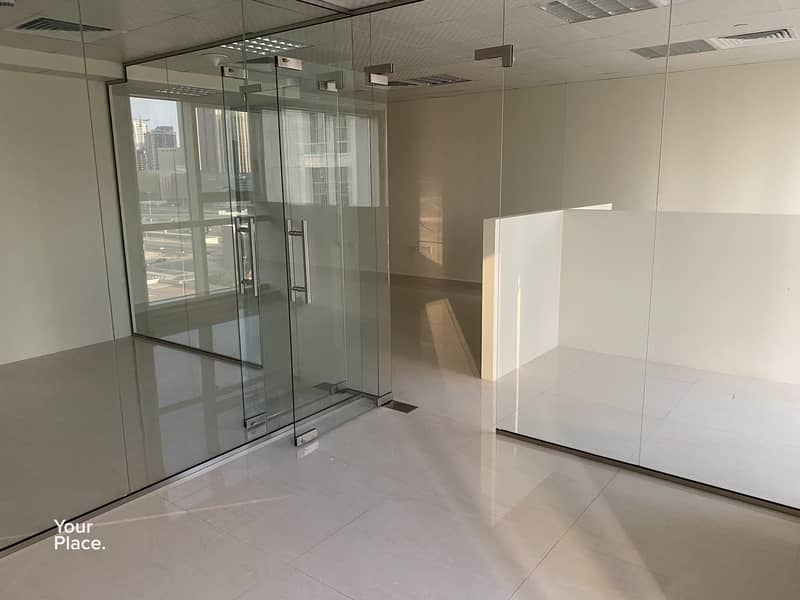 2 Near metro fully fitted office