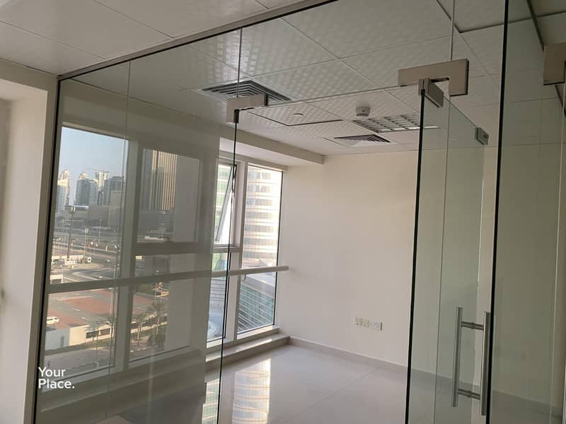 13 Near metro fully fitted office