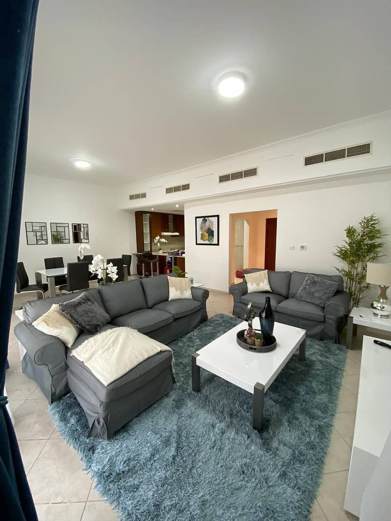 2 Bhk for Rent in Gate Apartments Uptown Mirdif Dubai