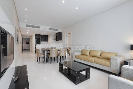 3 Bedroom Flat for Rent in Business Bay, Dubai - 3BR Fully Furnished | Maison Canal Views