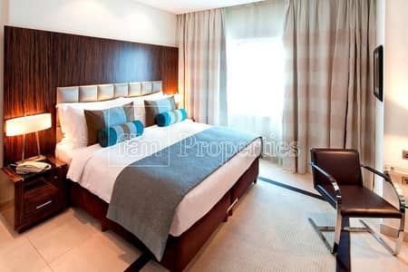 1 Bedroom Hotel Apartment for Rent in Jumeirah Lake Towers (JLT), Dubai - Apt with luxurious finishes & scenic lake views