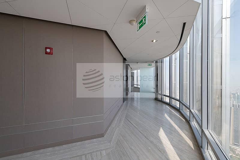 20 Full Floor FITTED Office in Burj Khalifa Corporate