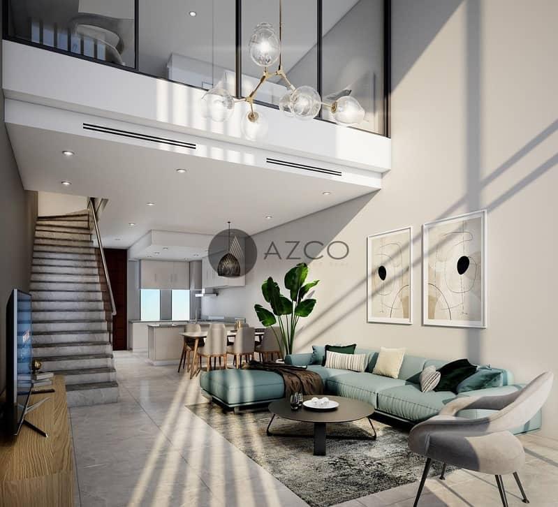 10 1 BR Loft Townhouse | Near Global Village | Ready in 2022