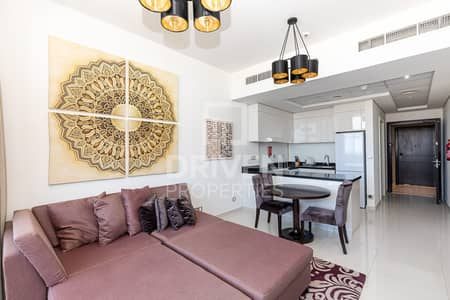 1 Bedroom Apartment for Rent in Jumeirah Village Circle (JVC), Dubai - Furnished 1Bdr Apartment | on High Floor