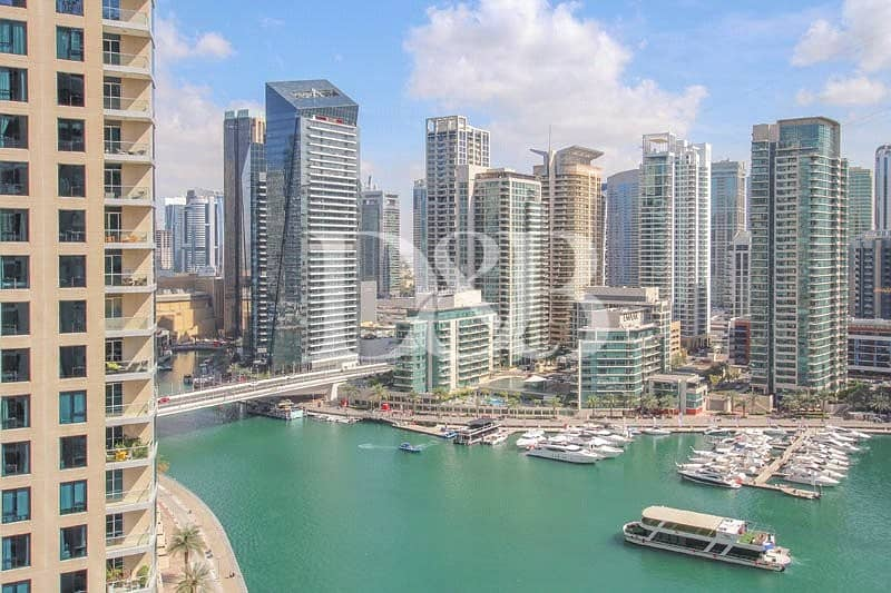 Unfurnished | Full Marina View | Spacious