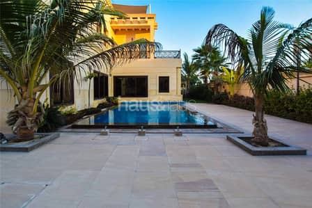 6 Bedroom Villa for Rent in Emirates Hills, Dubai - New Listing | Modern Mansion | Lake View