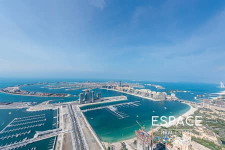 4 Bedroom Flat for Sale in Dubai Marina, Dubai - Full Sea View | Luxurious Furnished | 4B